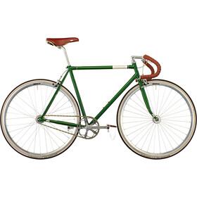Creme Vinyl Doppio Citybike Herrer singlespeed/fixed gear grøn